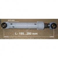 Амортизатор для стиральной машины Bosch 120N диам.8мм,длин185-280mm