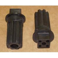 Втулка шнека электромясорубки Braun (черная)