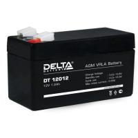 АКБ свинц 12В  1.2 А/ч Delta DT12012