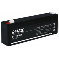 АКБ свинц 12В  2.2 А/ч DELTA DT12022