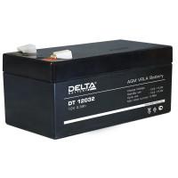 АКБ свинц 12В  3.3 А/ч Delta DT12032