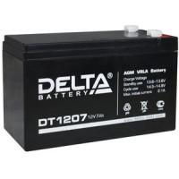 АКБ свинц 12В  7.0 А/ч Delta DT1207