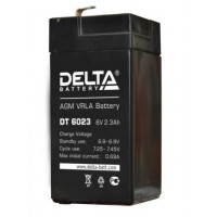АКБ свинц 6В  2.3 А/ч Delta DT6023