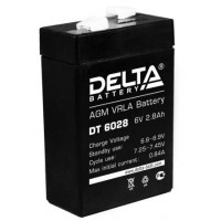 АКБ свинц 6В  2.8 А/ч Delta DT6028