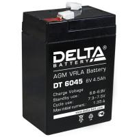 АКБ свинц 6В  4.5 А/ч Delta DT6045