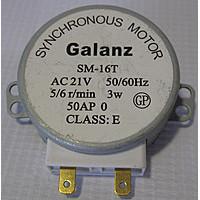 Мотор поддона СВЧ GALANZ 21V,3W 5/6  6549W1S011B