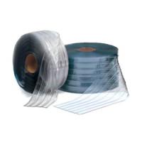 Пленка ПВХ, морозостойкая, шир.300 мм,толщ.3 мм, прозрачная, с двухсторонним рифлением