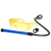 Течеискатель ультрафиолетовый (очки+фонарь)