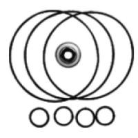 GC-KN12 Ремонтный комплект колец для компрессоров Denso