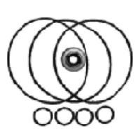 GC-KNN01 Ремонтный комплект колец для компрессоров Denso