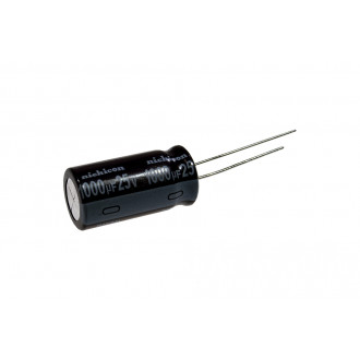 Cap 25-1000  WL  25В/1000мкФ 10*28  105C  Jamicon  Low impedance