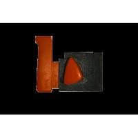 Выключатель 004 для УШМ 4 контакта, фиксаторы с обоих сторон