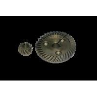 Коническая пара Интерскол УШМ 125/900 оригинал (прямой зуб)